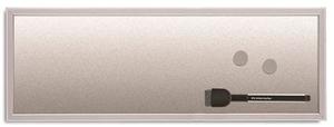 Skrivtavla Silverboard, 20 x 60 cm