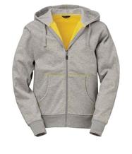 Gråmelerad Hood gul kontrast Herr M