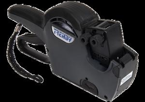 Märkare Trendy Grey, 26x16mm, 2-rader 8+6 tecken