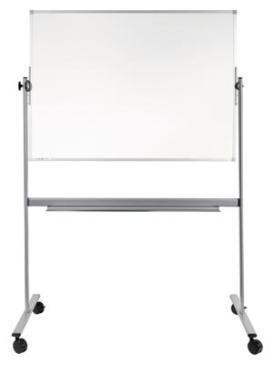 Dubbelsidig Whiteboard 90 x 120 cm på stativ