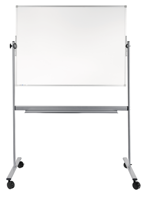 Dubbelsidig Whiteboard 100 x 150 cm på stativ